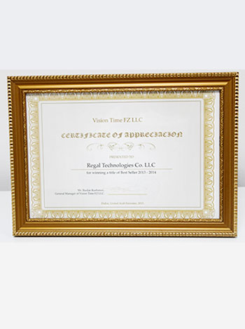 vision time distributor award, regaltech