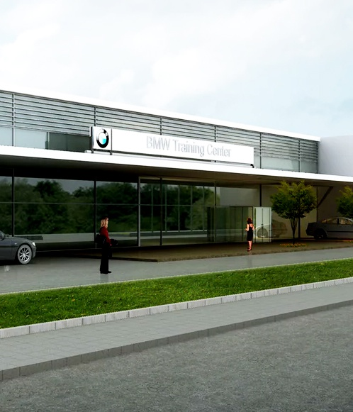 CCTV & Access Control System, BMW Training Facility